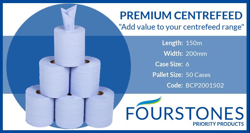 Priority Product premium centrefeed