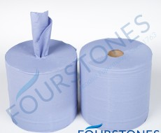 Industrial Blue Wiper Roll From Fourstones