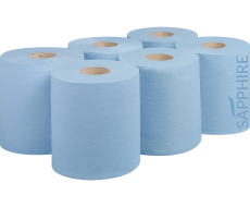 UK Blue flat sheet Centrefeed Manufacturer