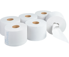 Beta One centre pull toilet rolls