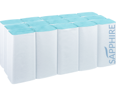 Blue V-Fold Hand Towels Manufacturer
