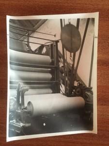 Sapphire Paper Mill History - Machine
