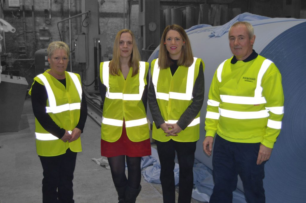 Sapphire Paper Mill has been visited by Local MSP