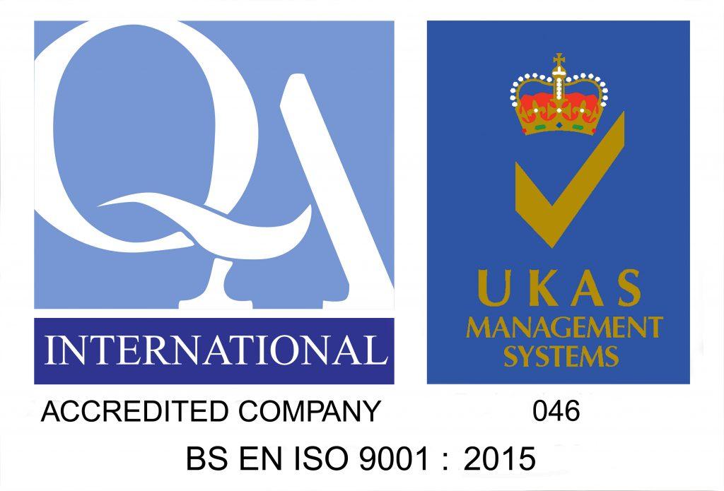 ISO 9001:2015 QA Logo